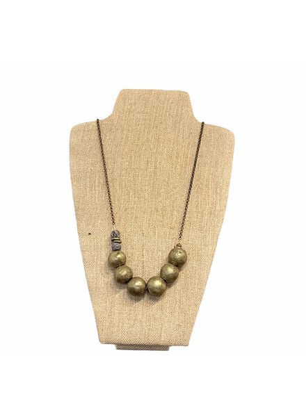 Seeds Jewelry Large Bead Necklace