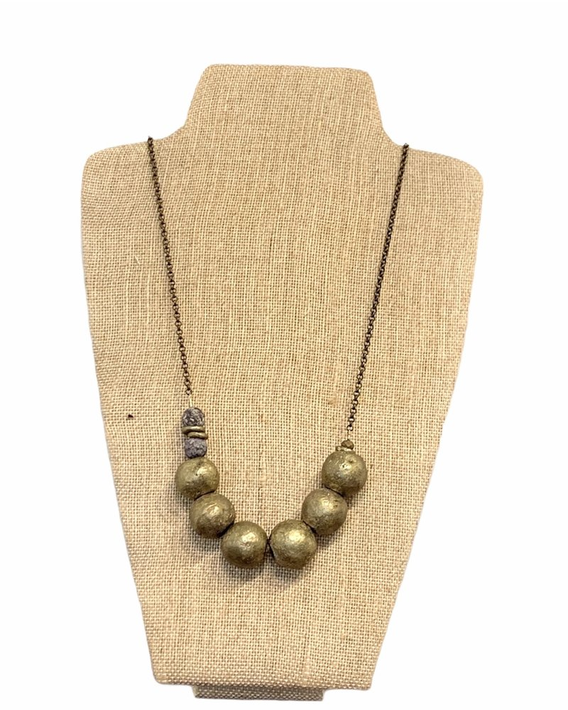 Seeds Jewelry Seeds Large Bead Necklace