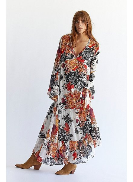 Free People Moroccan Roll Maxi
