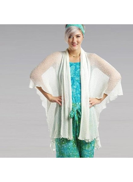 Hands To Hearts Soul Warmer Woven Cardigan