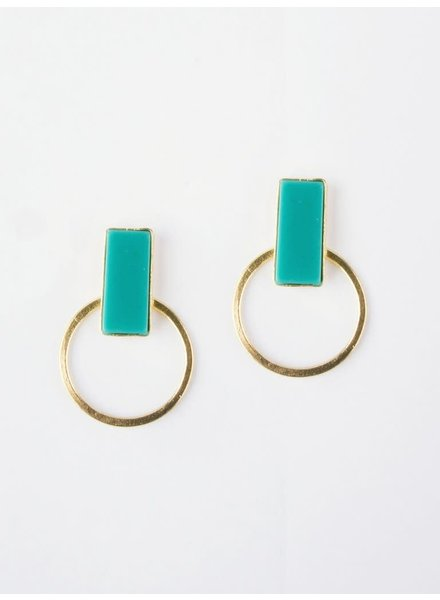 Mata Traders Hadley Turquoise  Studs