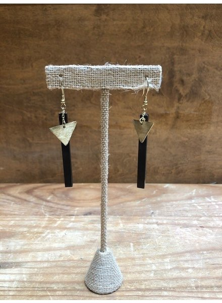 Mata Traders Midnight Drop Earrings