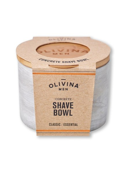 Olivina Concrete Shave Bowl