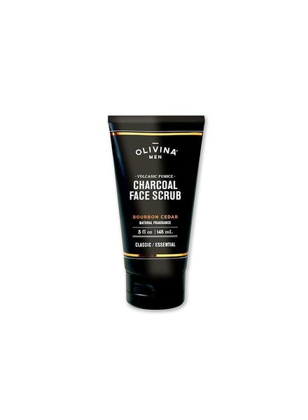 Olivina Volanic Pumice & Charcoal Face Scrub