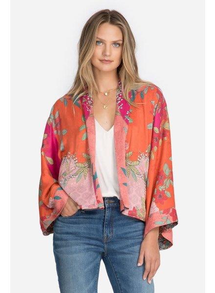 Johnny Was Maggie Crop Reversible Kimono