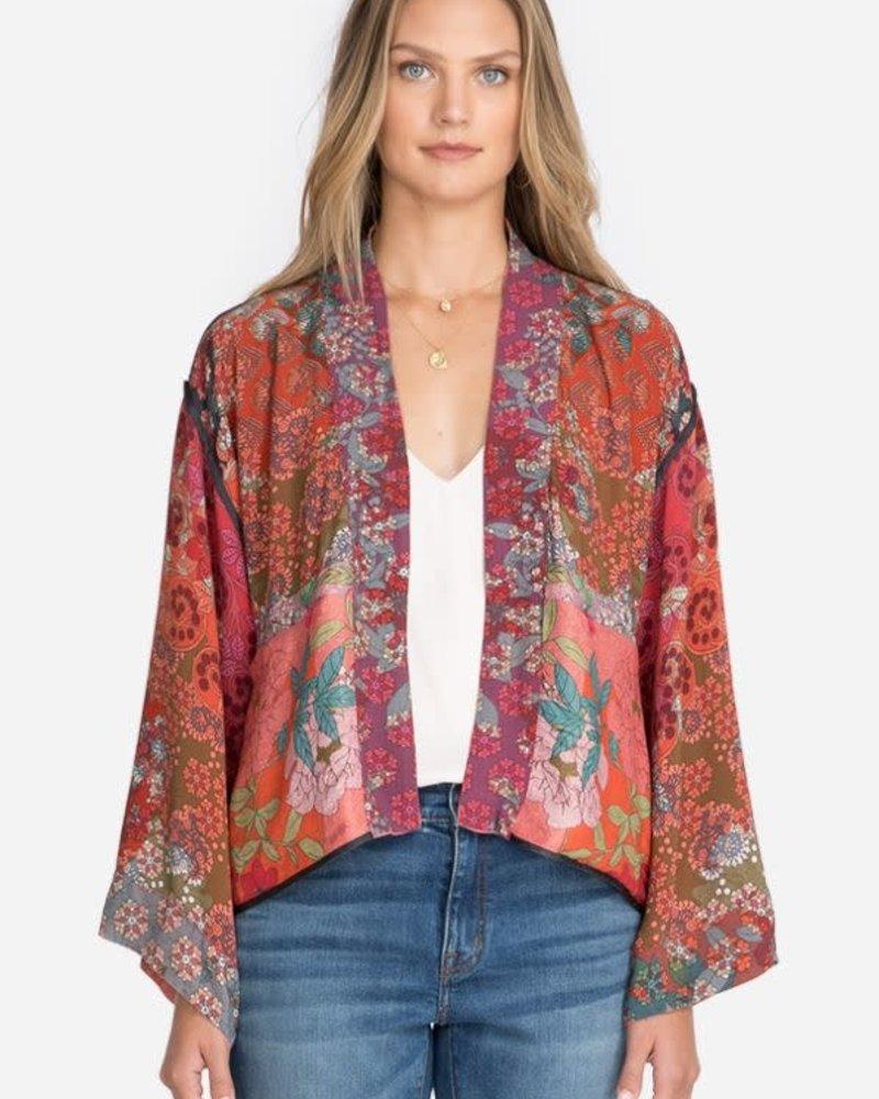 Johnny Was Johnny Was Maggie Crop Reversible Kimono