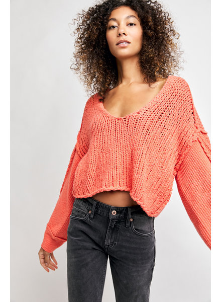 Free People Sea Bright Pullover