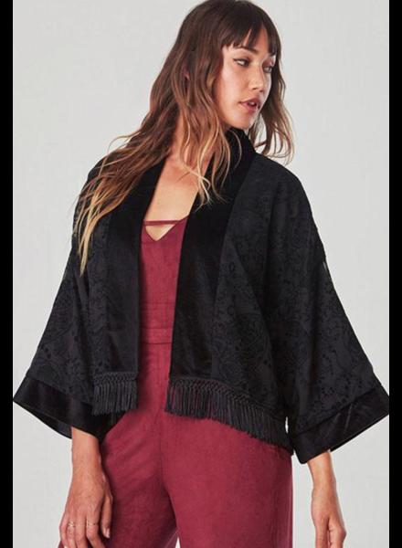 BB Dakota/Jack Velvet Short Kimono