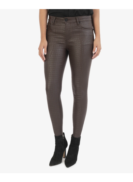 Connie High Rise Faux Leather Pant