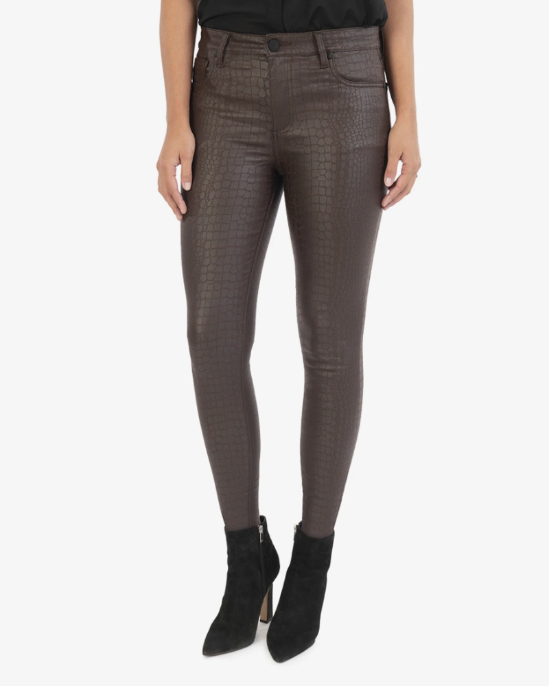 Kut Connie High Rise Faux Leather Pant