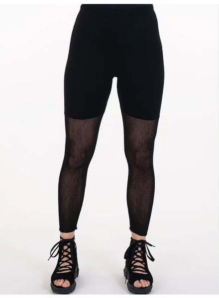 Cynthia Ashby Cotton Mesh Legging