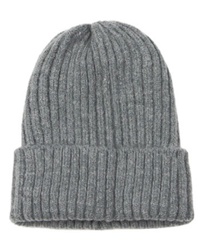 Golden Stella Knit Cuff Beanie