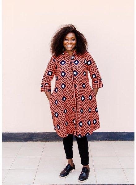 Zuri Gridlock Dress