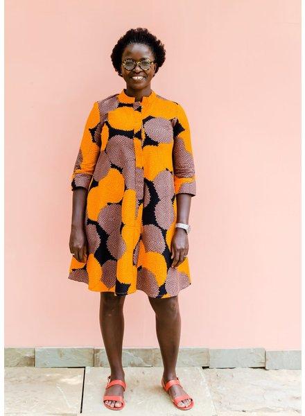 Zuri Orange Blossom Dress