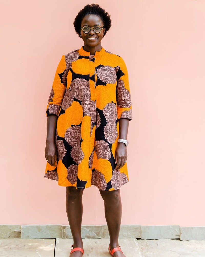 Zuri Zuri Orange Blossom Dress