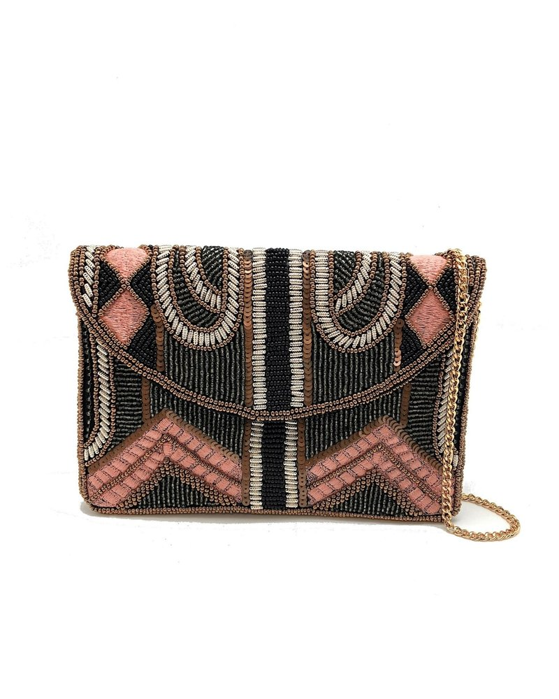 LA Chic. LA Chic Pale Pink Mini Crossbody