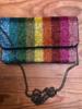LA Chic. LA Chic Multi Stripe Mini Bag