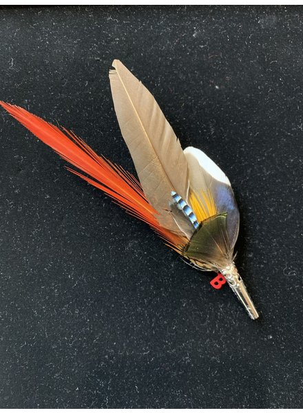 Pencil Feather Pin