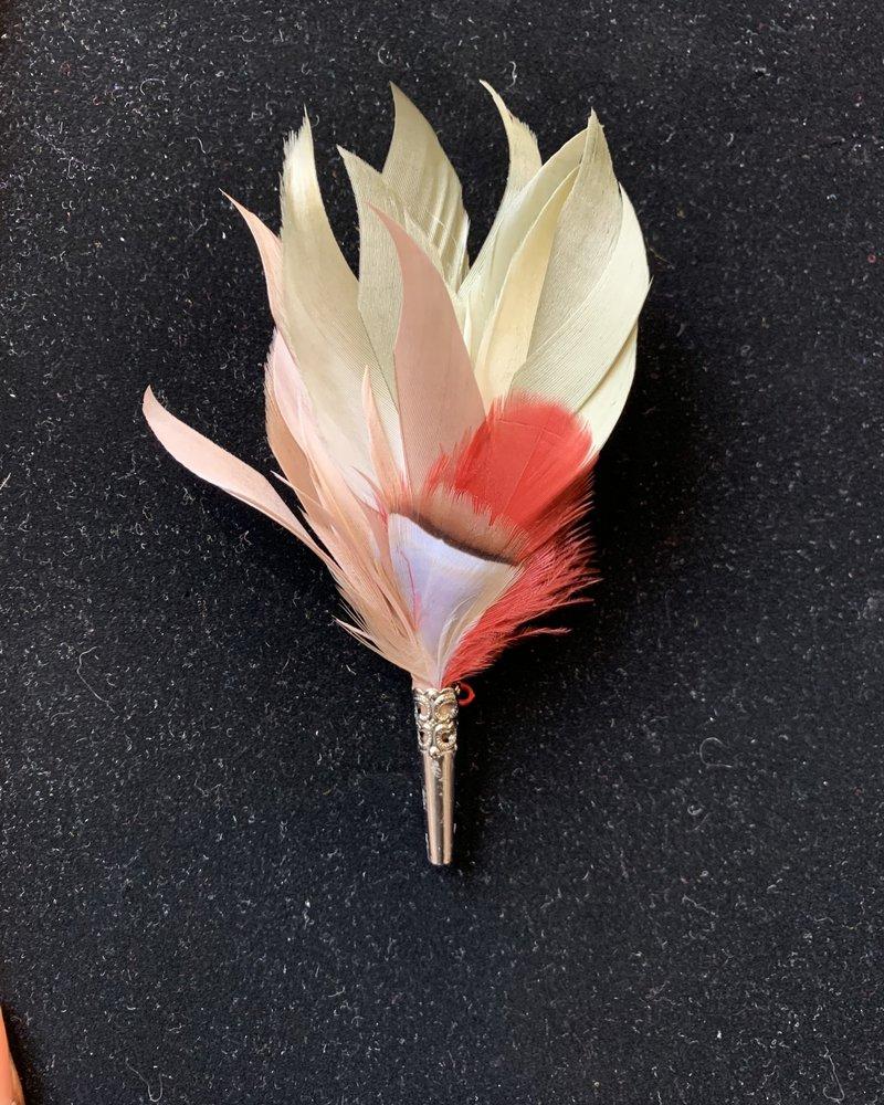 MyBob Pencil Feather Pin
