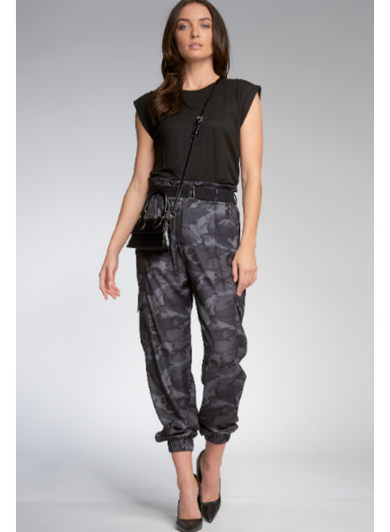 Elan High Waisted Cargo Pants