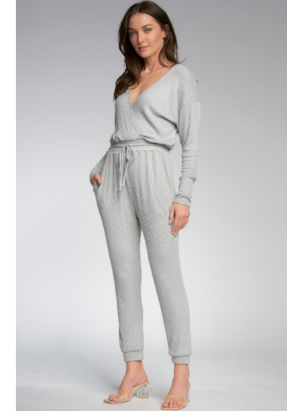 Elan V Neck Jumpsuit