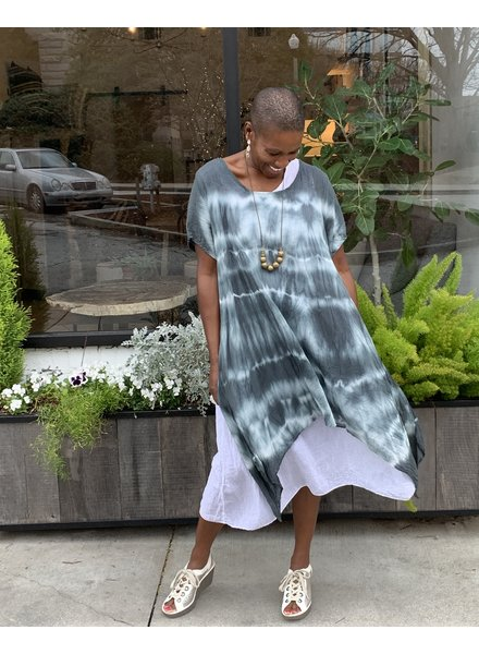Saga Two Piece Tie Dye Dress