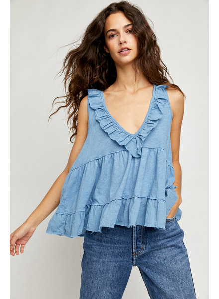 Free People Out and About Tank