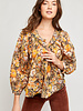 Free People Free People Cool Meadow Printed Top