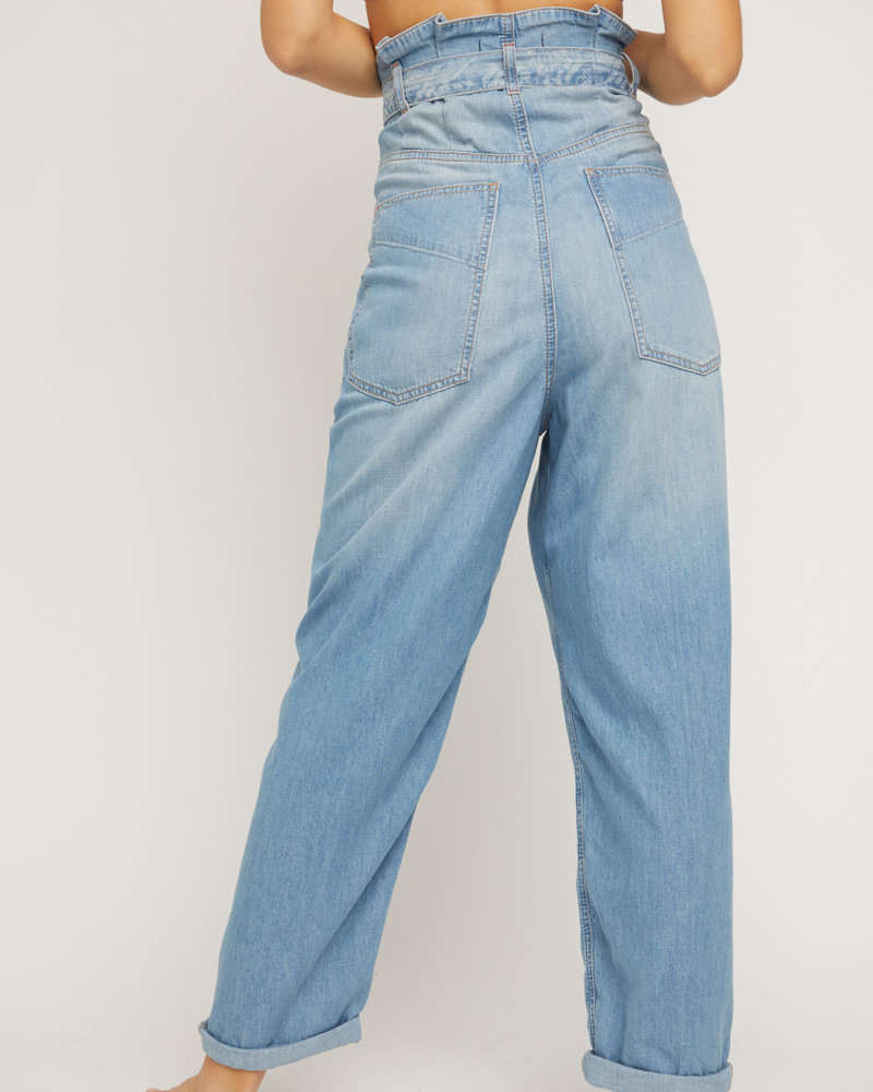 Free People Free People Bombay Belted Jeans