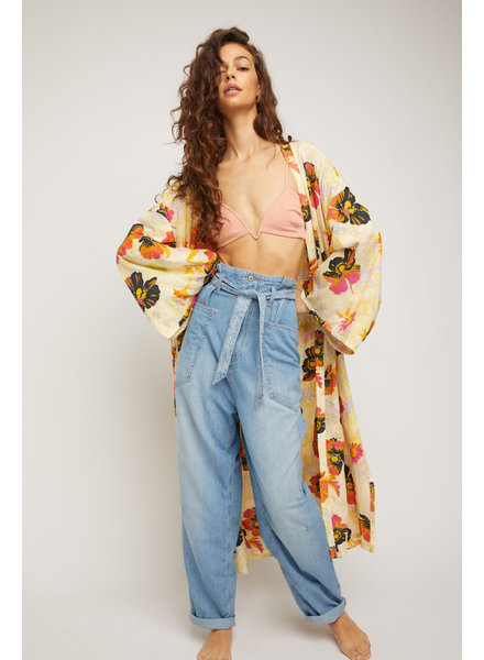 Free People Bombay Belted Jeans
