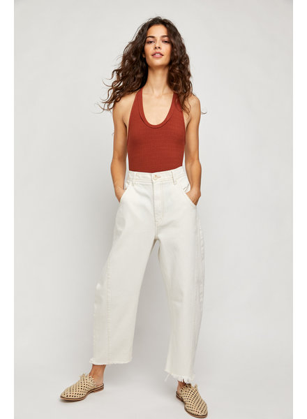 Free People Extreme Barrel Jean