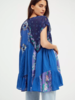 Free People Free People Mended with Scarves Mini Dress