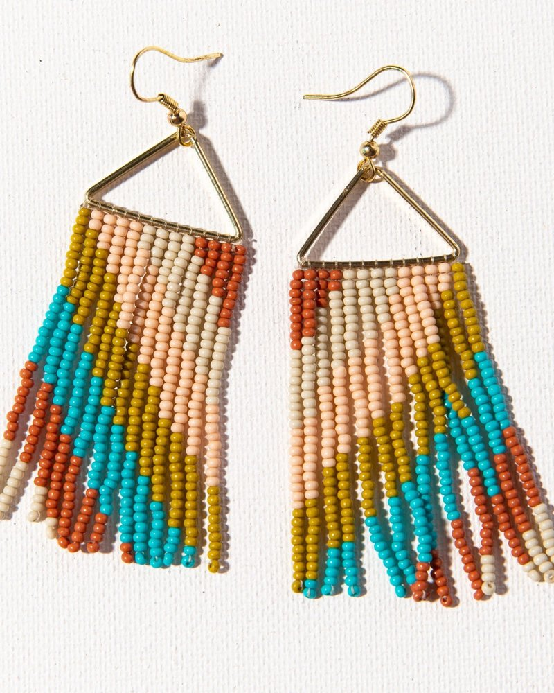 Ink+Alloy Ink+Alloy Fringe Earrings