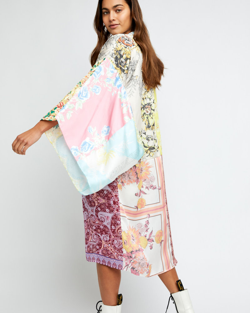 Free People Free People Patched with Love Robe