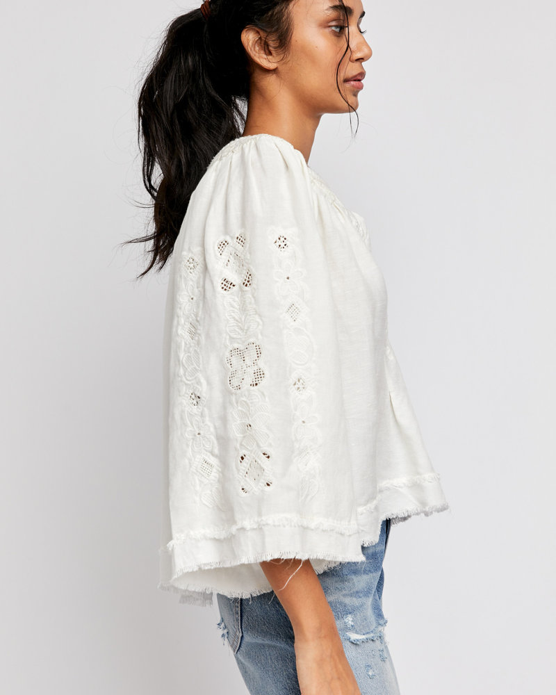 Free People Free People Sun Valley Embellished Top