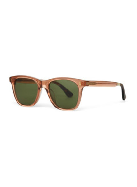 TOMS Eyewear Fitzpatrick Sunglasses Rust Crystal/ B Gre