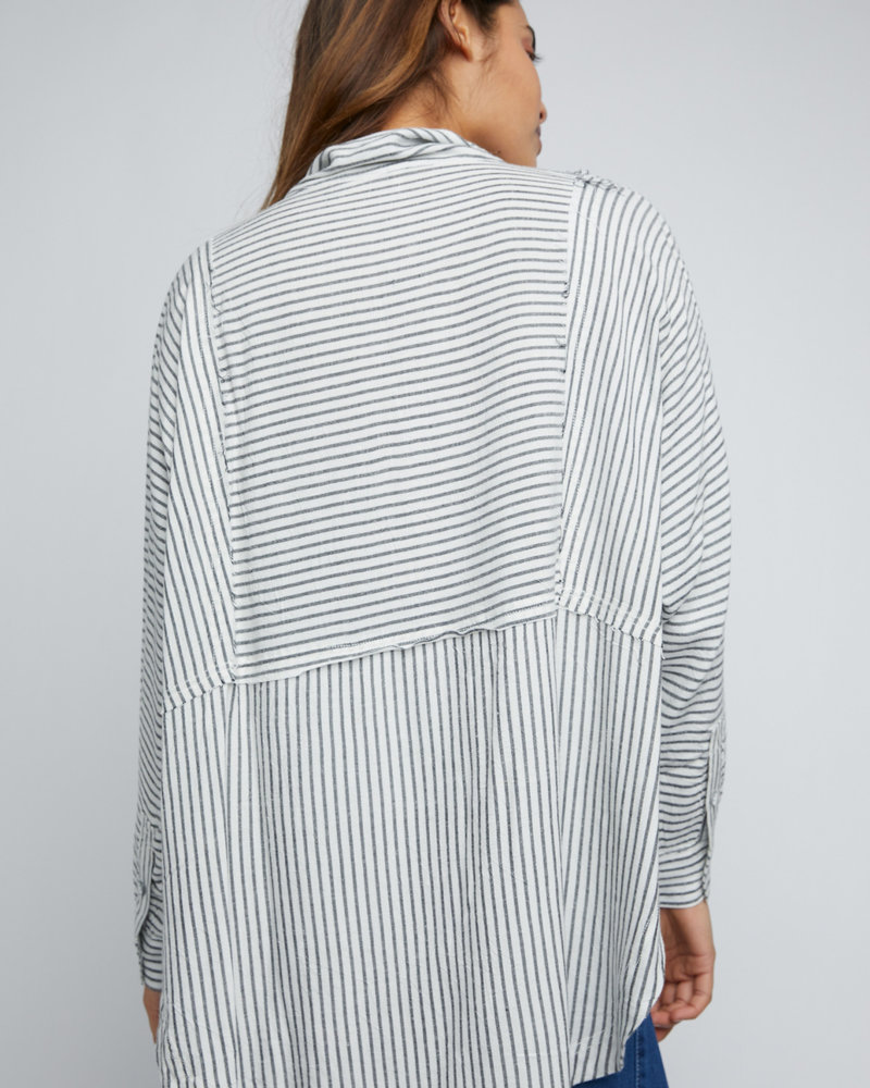 Free People Free People One & Only Stripe Shirt