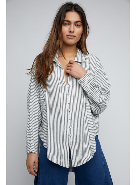 Free People One & Only Stripe Shirt