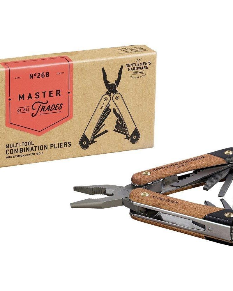 Gentlemen's Hardware Gentlemen's Hardware Plier Wood Multi-Tool