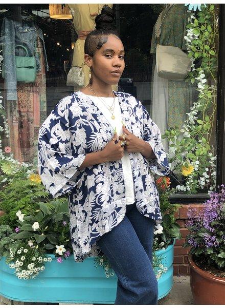 Paani Blue Kimono