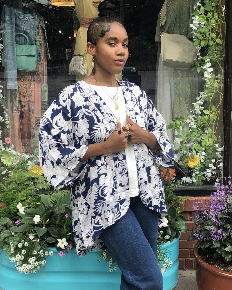 Paani Paani Blue Kimono