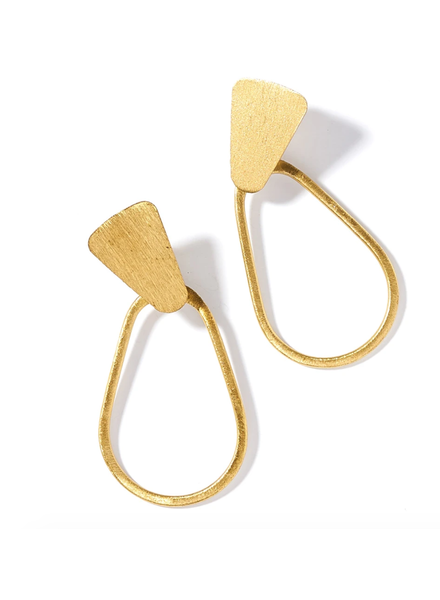Matr Boomie Kaia Gold Hoop Earrings