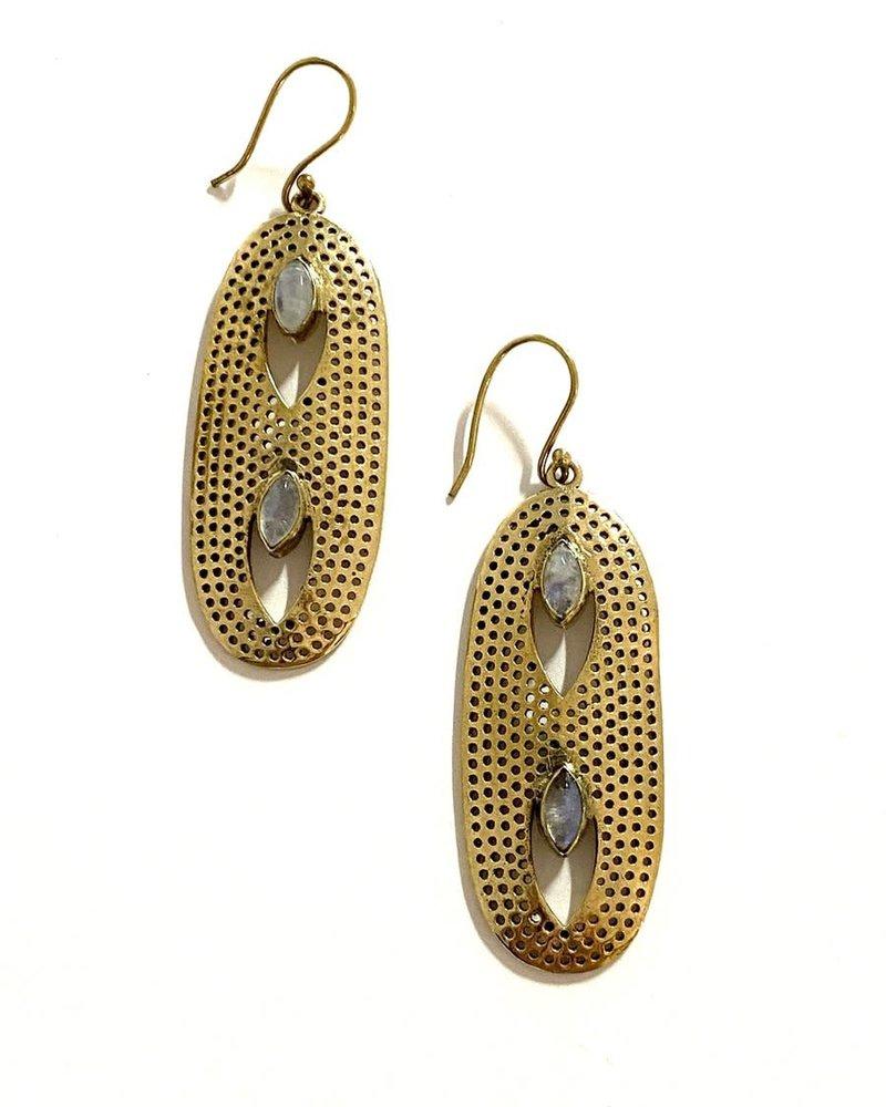 Boho Gal Jewelry Boho Gal Bisa Earrings