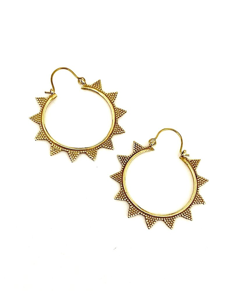 Boho Gal Jewelry Boho Gal Tulum Hoops