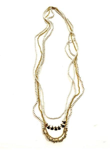 Boho Gal Jewelry Ishiya Beaded Necklace