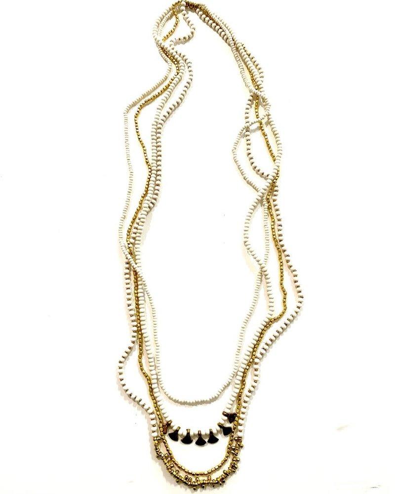 Boho Gal Jewelry Boho Gal Ishiya Beaded Necklace