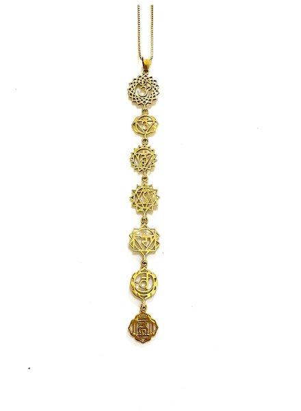 Boho Gal Jewelry Divine Chakra Necklace