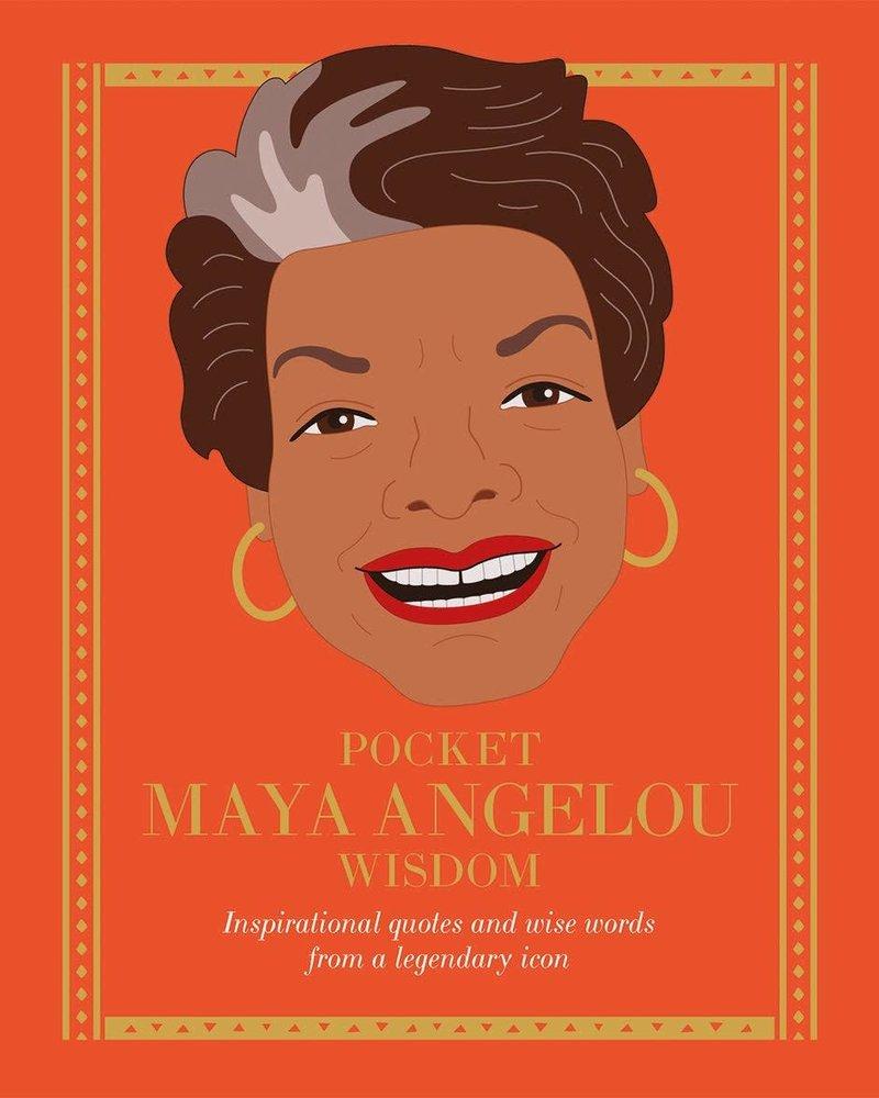 Chronicle Books Pocket Maya Angelou Wisdom