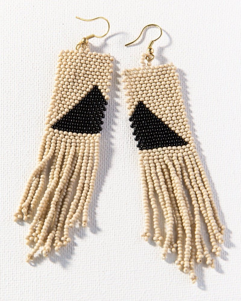 Ink+Alloy Ink + Alloy Seed Bead Earring