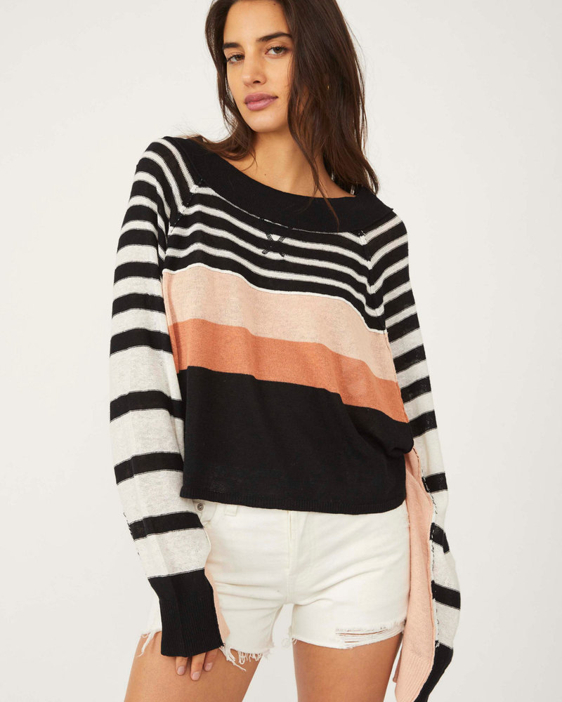 Free People Free People Block Party Pullover